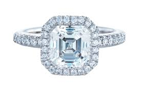 asscher cut diamond engagement rings 30 diamond engagement rings so sparkly you u0027ll need sunglasses