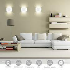 Wohnzimmer Bar Beleuchtet Ghb 7w Led Wandleuchte Wandlampe Rechteck Wandbeleuchtung Up Und