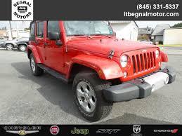 red customized jeep wranglers jeep wrangler in kingston ny l t begnal motor company