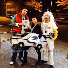 back to the future costume back to the future marty mcfly and the delorean costume costumes