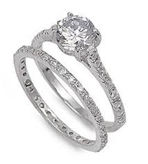 925 sterling silver engagement rings solitaire 925 sterling silver 1 75ct simulated engagement