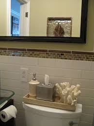 Small Bathroom Shelf Small Half Bathroom Designs Orange Creative And Casual Rack Wall