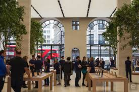 Apple Retail Jobs London U0027s Renovated Regent Street Apple Store Interior Shown Off In