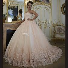 light pink quince dresses light chagne gown quinceanera dresses sweetheart appliuqes