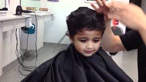 pictures of hair cut for year shreyas 2 year old hair cut youtube