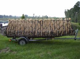 Duck Boat Blind Pictures Flyway Grass By Flyway Specialties