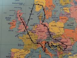 Trains In Europe Map by Interrail Route Idea Interrail Trip Pinterest Interrail Trips