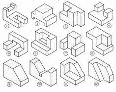 isometric drawing exercises with answers google search