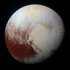 what color are guide signs the rich color variations of pluto nasa