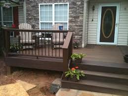 Front Patio Designs by Best 25 Front Deck Ideas On Pinterest Decking Ideas Raised