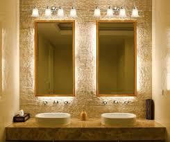 Best BATHROOMS Lighting Images On Pinterest Room Bathroom - Bathroom lighting and mirrors