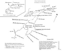 Appalachian Trail Map Virginia by Tidewater Appalachian Trail Club
