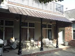 How To Build A Awning Over A Deck Aluminum Awning Metal Awning Benefits Cost U0026 Installation
