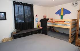 Bunk Beds Calgary Artist Adds Creative Touch