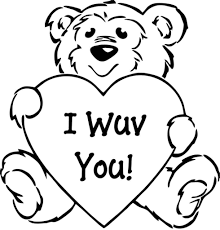 preschool valentine coloring pages fresh 5348