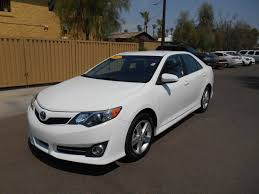 certified pre owned 2014 toyota camry se 4dr car in mesa 17227