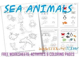 printable animal activities formidable free printable worksheets on animals with printable sea