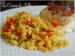la cuisine de nelly poêlée ebly safran légumes du sud la cuisine de nelly