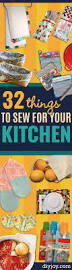 32 great things to sew for your kitchen diy sewing projects
