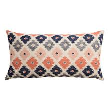 blue and gray sofa pillows coral flowers throw pillow one size throw pillows pillows and flowers