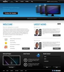 templates for professional website 50 beautiful free and premium psd website templates and