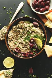 Mediterranean Vegan Kitchen - mediterranean lentil dip minimalist baker recipes