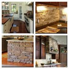Stone Backsplash Kitchen by Diy Stone Backsplash With Airstone I Actually Did This Too