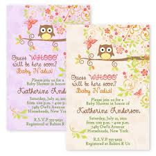 pink owl baby shower invitations owls autumn fall owl baby shower bridal shower invitations custom