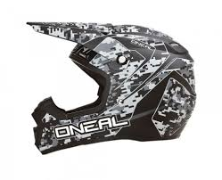 black motocross helmet 2015 oneal 5 series digi camo dirt bike off road atv quad gear
