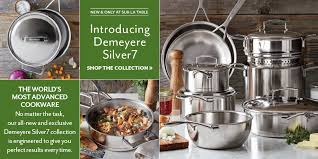 demeyere cuisine demeyere silver7 12 set sur la table