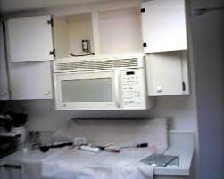how to install over the range microwave without a cabinet todd s home repair microwaves ovens