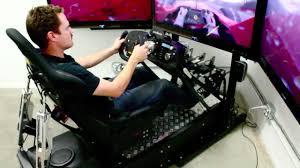 f1 2010 in the motion pro ii racing simulator youtube