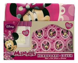 Headboard Covers Amazon Com Disney Minnie Mouse Microfiber Headboard Cover