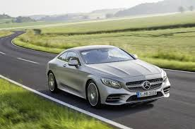 mercedes u0027 re engineered s class coupe convertible go on sale in 2018