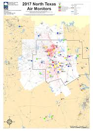 Ft Worth Map Barnett Shale Maps And Charts Tceq Www Tceq Texas Gov