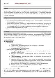 Sample Resume Of Hr Executive by Sample Resume Hr Executive Experience Velcro Friday Gq