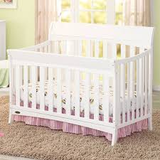 Crib White Convertible by Graco Rory 4 In 1 Convertible Crib In White Free Shipping