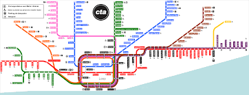 Metra Train Map Chicago by Lpicture Png