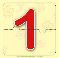 number u2013 one 1 number jigzaw puzzles for kids for more cool