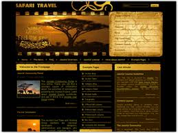 dj safari joomla template joomla travel u0026 adventure template