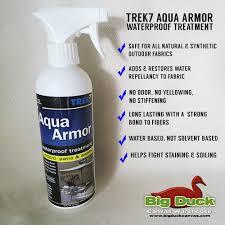 Awning Waterproofing Trek7 Waterproofing Spray Aqua Armor 16oz Outdoor Fabric