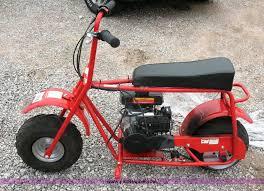 baja doodle bug mini bike 97cc 4 stroke engine manual item 2108 sold june 24 derby only auction p