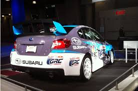 rally subaru 2015 subaru wrx sti rally car shown at new york show u2013 automobile