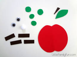 little family fun apple buddy back to craft for kids