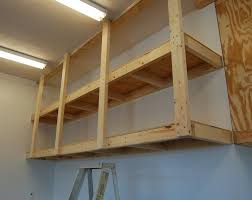 wood wall shelves garage