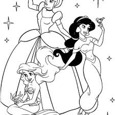100 ideas disney princesses coloring pages