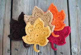 amigurumi leaf pattern fall leaves free crochet pattern allfreecrochet com