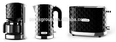 Toaster Kettle Set Breakfast Set Diamond Design Drip Coffee Maker Electric Kettle 2