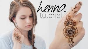 easy henna tattoo for beginners tips u0026 tricks youtube