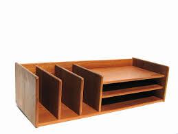 Designer Desk Organizer Reserved Teak Desk Organizer Mid Century Modern Office Georg